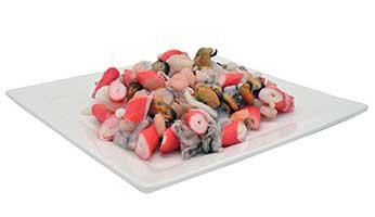 Seafood mix meeresfruchten